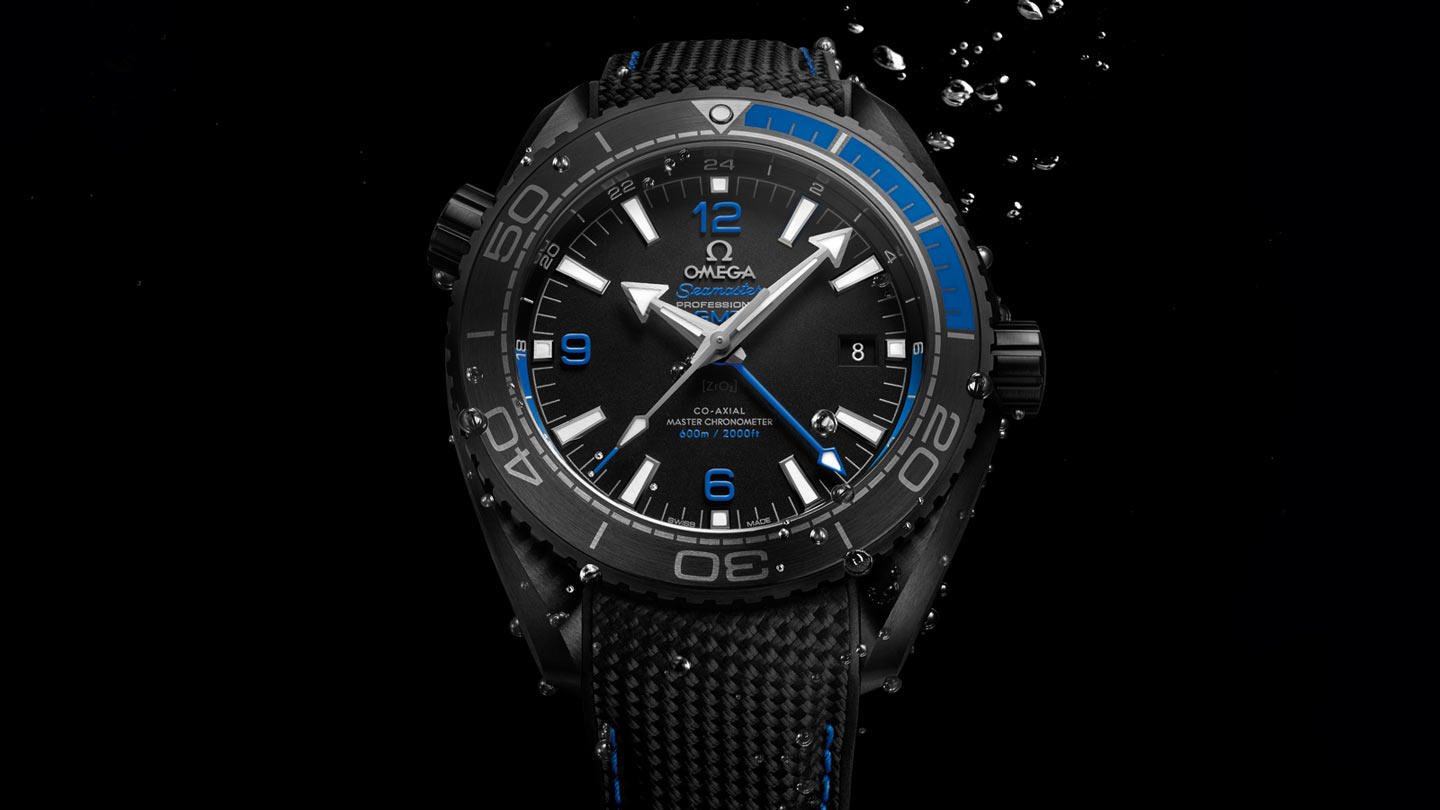 Seamaster プラネットオーシャン Planet Ocean 600M Omega Co‑Axial Master Chronometer GMT 45.5 mm - 215.92.46.22.01.002 - ビュー 2