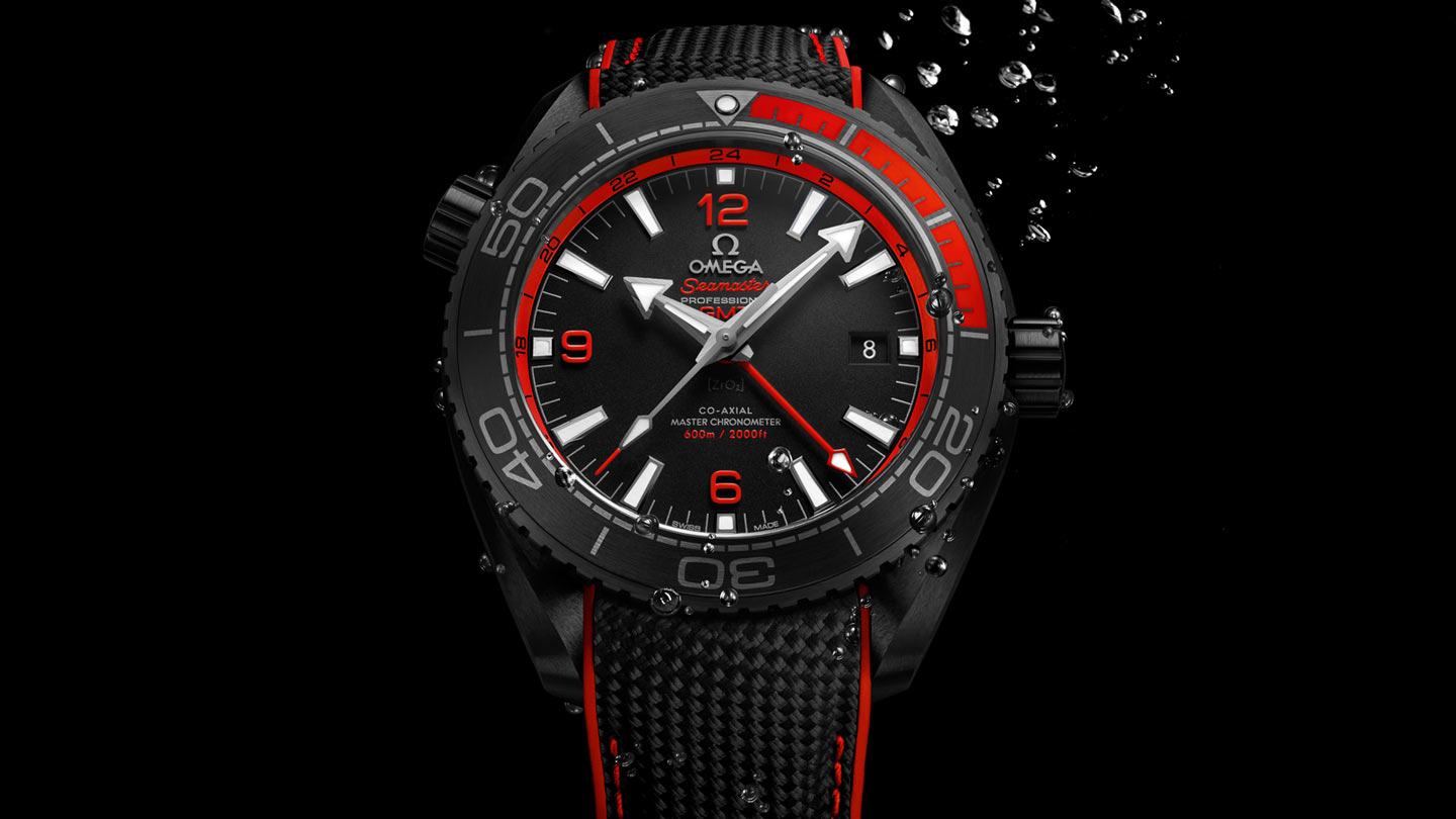Seamaster プラネットオーシャン Planet Ocean 600M Omega Co‑Axial Master Chronometer GMT 45.5 mm - 215.92.46.22.01.003 - ビュー 1