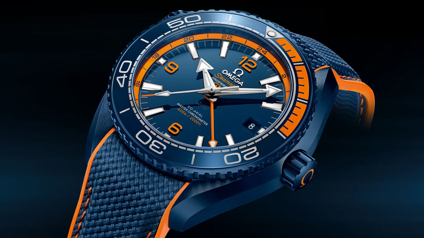 Seamaster プラネットオーシャン Planet Ocean 600M Omega Co‑Axial Master Chronometer GMT 45.5 mm - 215.92.46.22.03.001 - ビュー 1