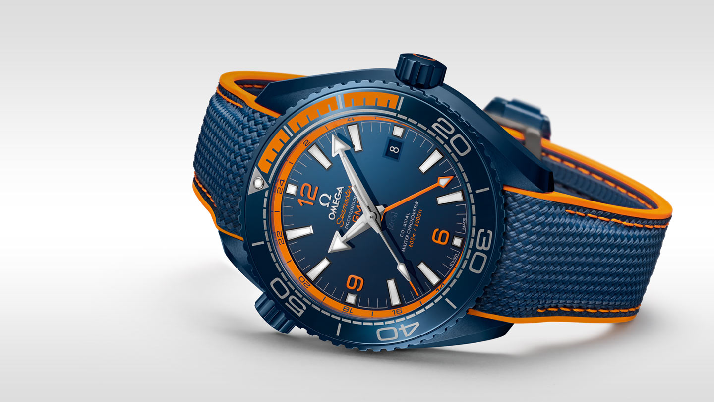 Seamaster プラネットオーシャン Planet Ocean 600M Omega Co‑Axial Master Chronometer GMT 45.5 mm - 215.92.46.22.03.001 - ビュー 3