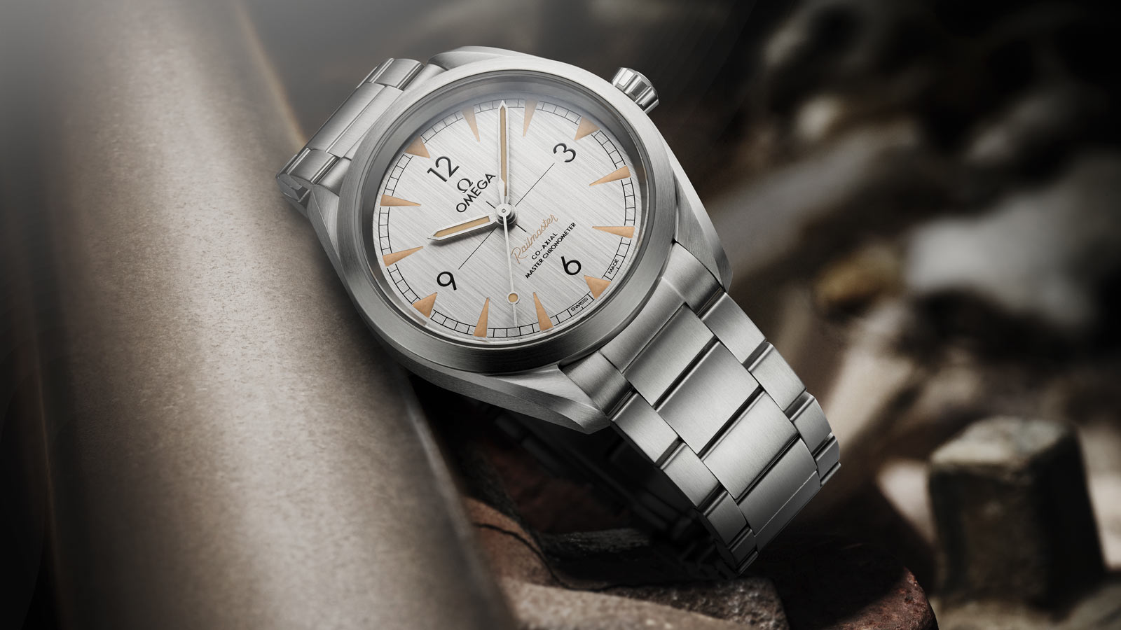 Seamaster レイルマスター Railmaster Omega Co‑Axial Master Chronometer 40 mm - 220.10.40.20.06.001 - ビュー 1