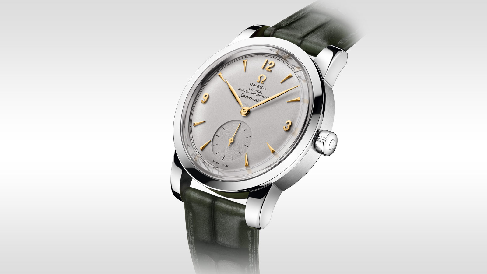 Seamaster シーマスター 1948 シーマスター 1948 Omega Co‑Axial Master Chronometer Small Seconds 38 mm - 511.93.38.20.99.001 - ビュー 2