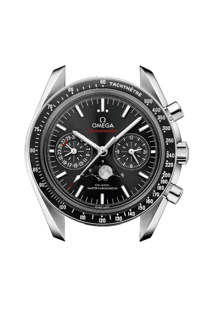 Moonwatch Omega Co-Axial Master Chronometer Moonphase Chronograph 44.25 mm - 304.30.44.52.01.001