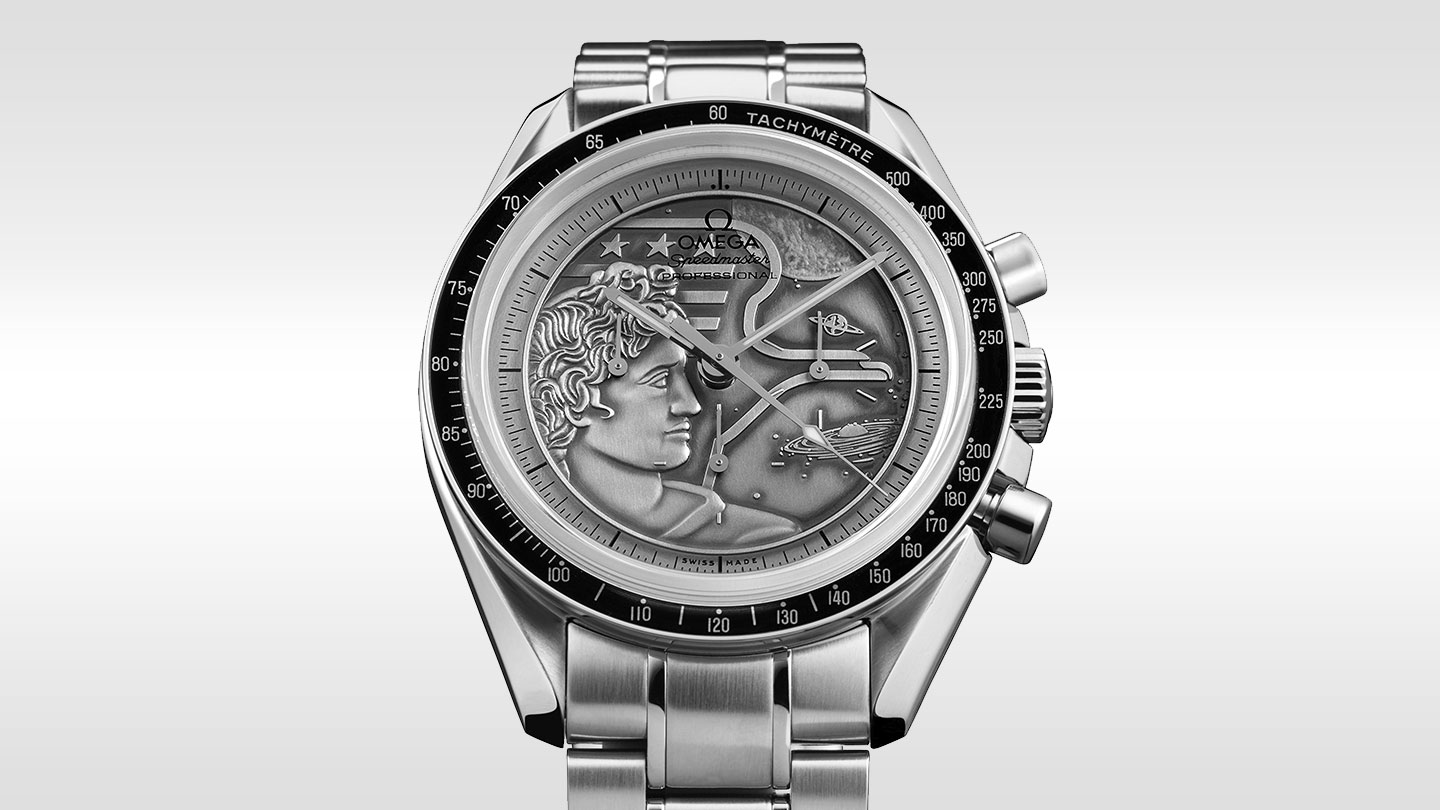 Speedmaster ムーンウォッチ Moonwatch Anniversary Limited Series - 311.30.42.30.99.002 - ビュー 1
