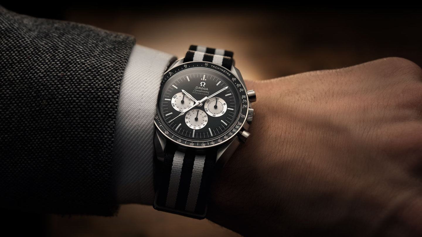Speedmaster ムーンウォッチ Moonwatch Anniversary Limited Series - 311.32.42.30.01.001 - ビュー 1