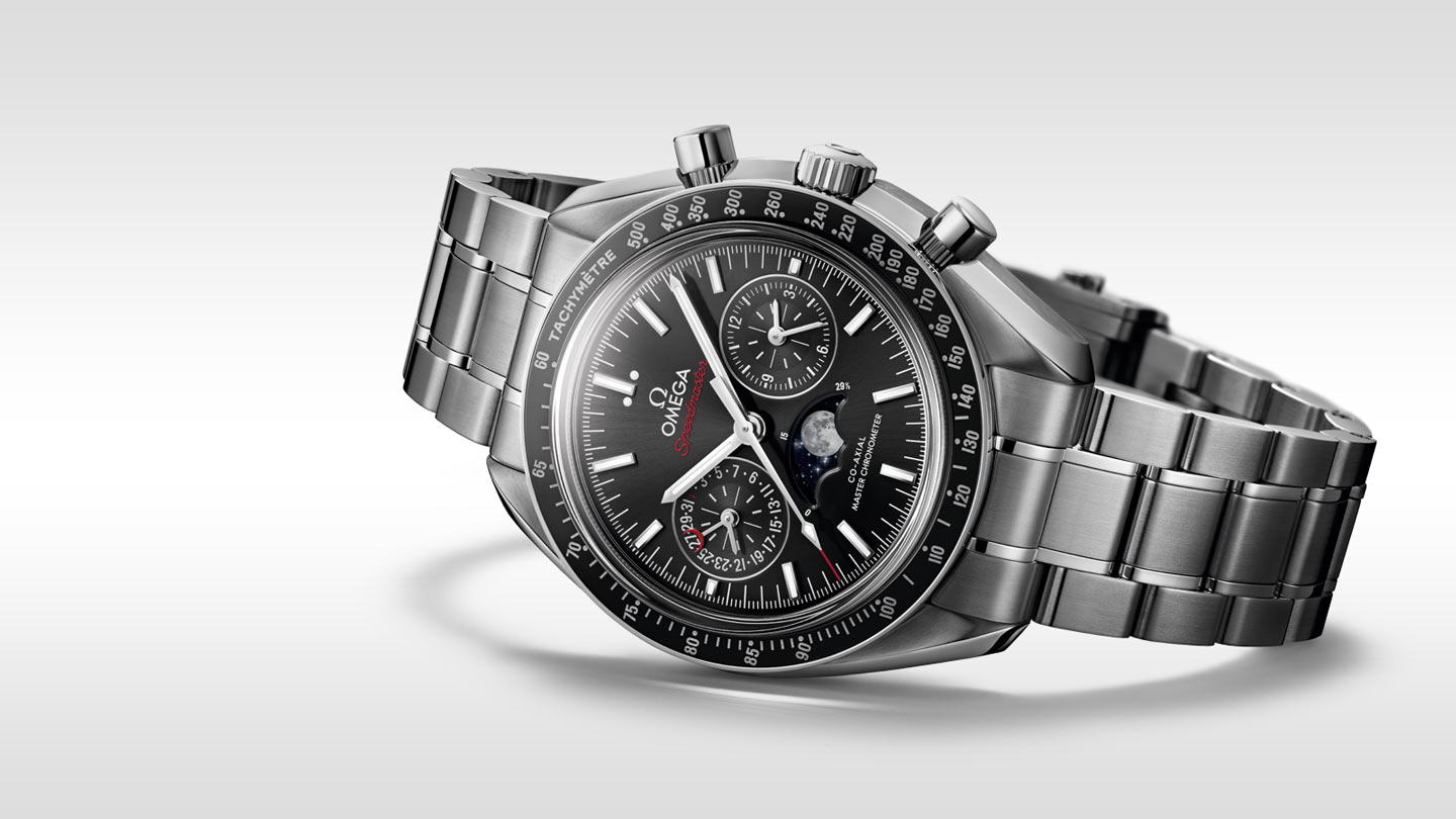 Speedmaster ムーンウォッチ Moonwatch Omega Co‑Axial Master Chronometer Moonphase Chronograph 44.25 mm - 304.30.44.52.01.001 - ビュー 2