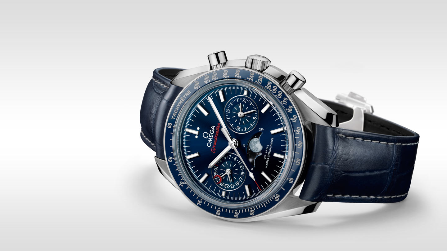 Speedmaster ムーンウォッチ Moonwatch Omega Co‑Axial Master Chronometer Moonphase Chronograph 44.25 mm - 304.33.44.52.03.001 - ビュー 3
