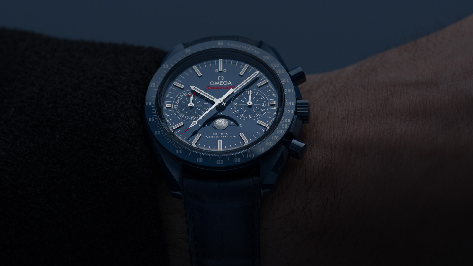 Speedmaster ムーンウォッチ Moonwatch Omega Co‑Axial Master Chronometer Moonphase Chronograph 44.25 mm ウォッチ - 304.93.44.52.03.001