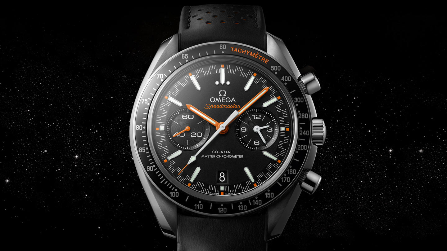 Speedmaster スピードマスター レーシング Racing Omega Co‑Axial Master Chronometer Chronograph 44.25 mm - 329.32.44.51.01.001 - ビュー 2