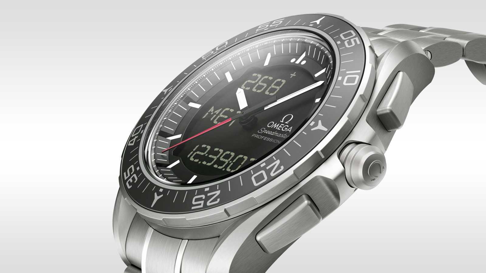 Speedmaster スカイウォーカー X‑33 Skywalker X‑33 Chronograph 45 mm - 318.90.45.79.01.001 - ビュー 1