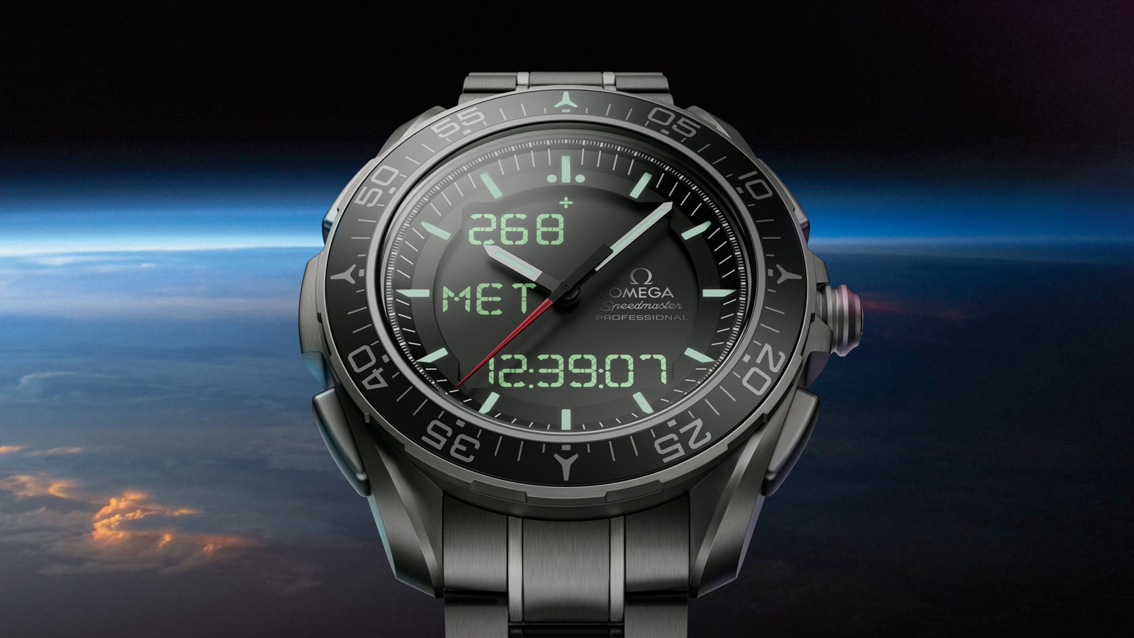 Speedmaster スカイウォーカー X‑33 Skywalker X‑33 Chronograph 45 mm - 318.90.45.79.01.001 - ビュー 4