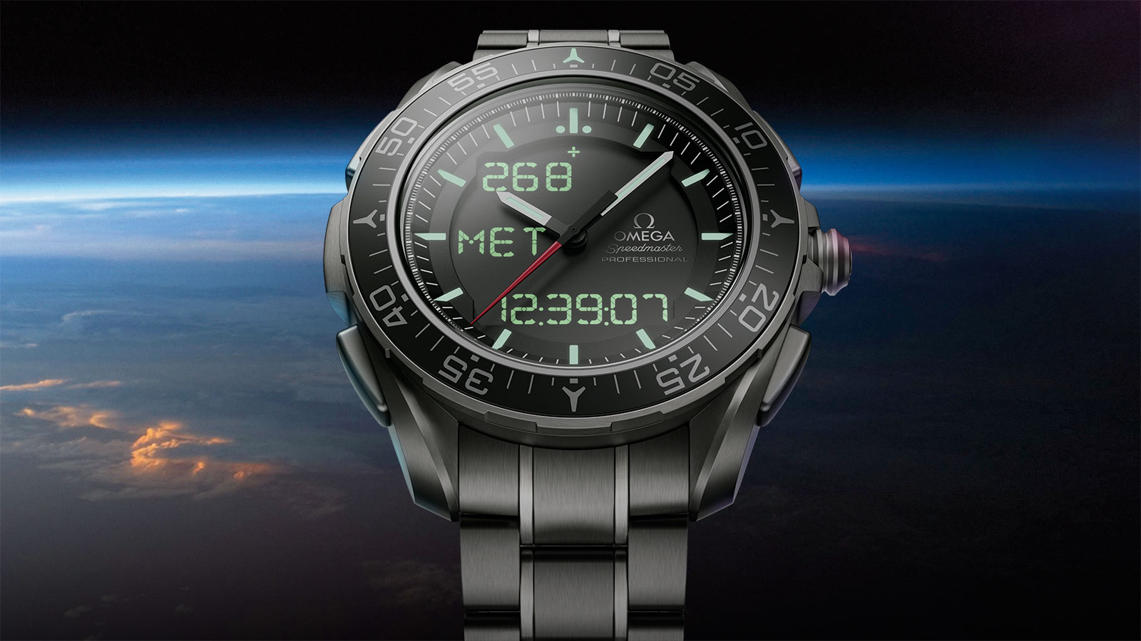 Speedmaster スカイウォーカー X‑33 Skywalker X‑33 Chronograph 45 mm ウォッチ - 318.90.45.79.01.001