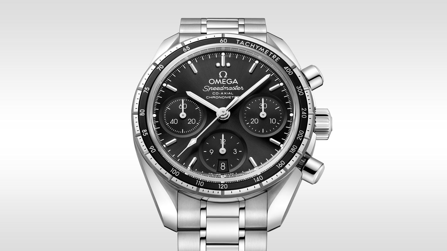 outlet store ec986 b2fd2 Speedmaster 38 Co-Axial Chronograph 38 mm - 324.30.38.50 ...