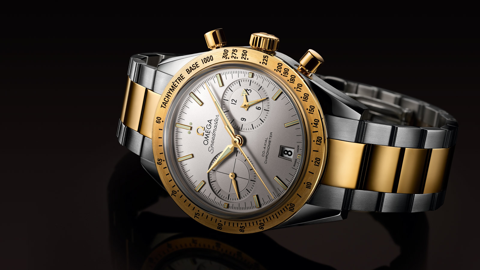 Speedmaster スピードマスター '57 Speedmaster '57 Omega Co‑Axial Chronograph 41.5 mm - 331.20.42.51.02.001 - ビュー 1