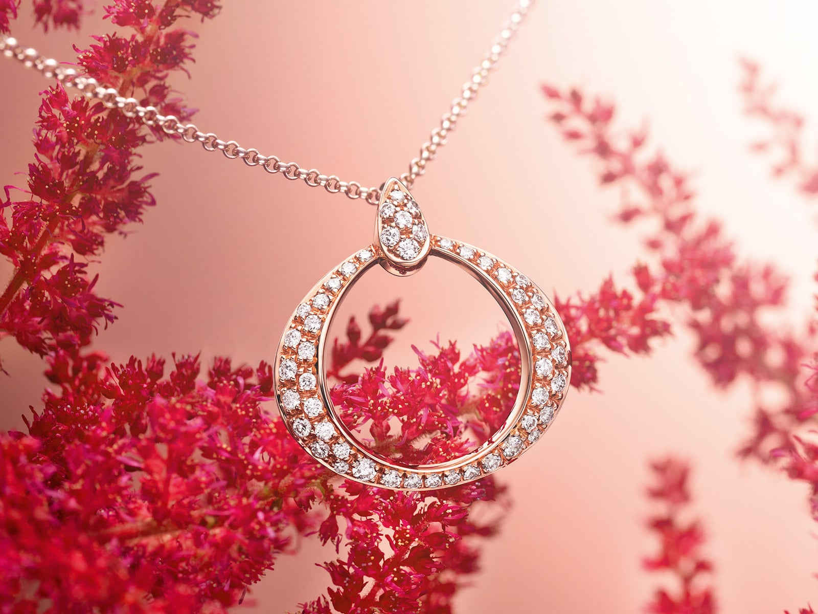 THE OMEGA DEWDROP PENDANT