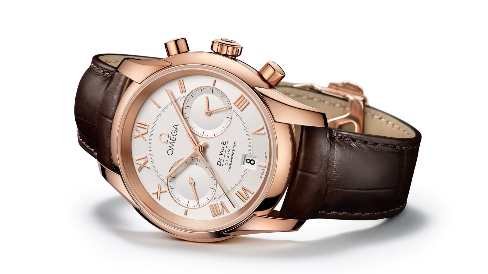 THE OMEGA DE VILLE CO-AXIAL GENTS' COLLECTION