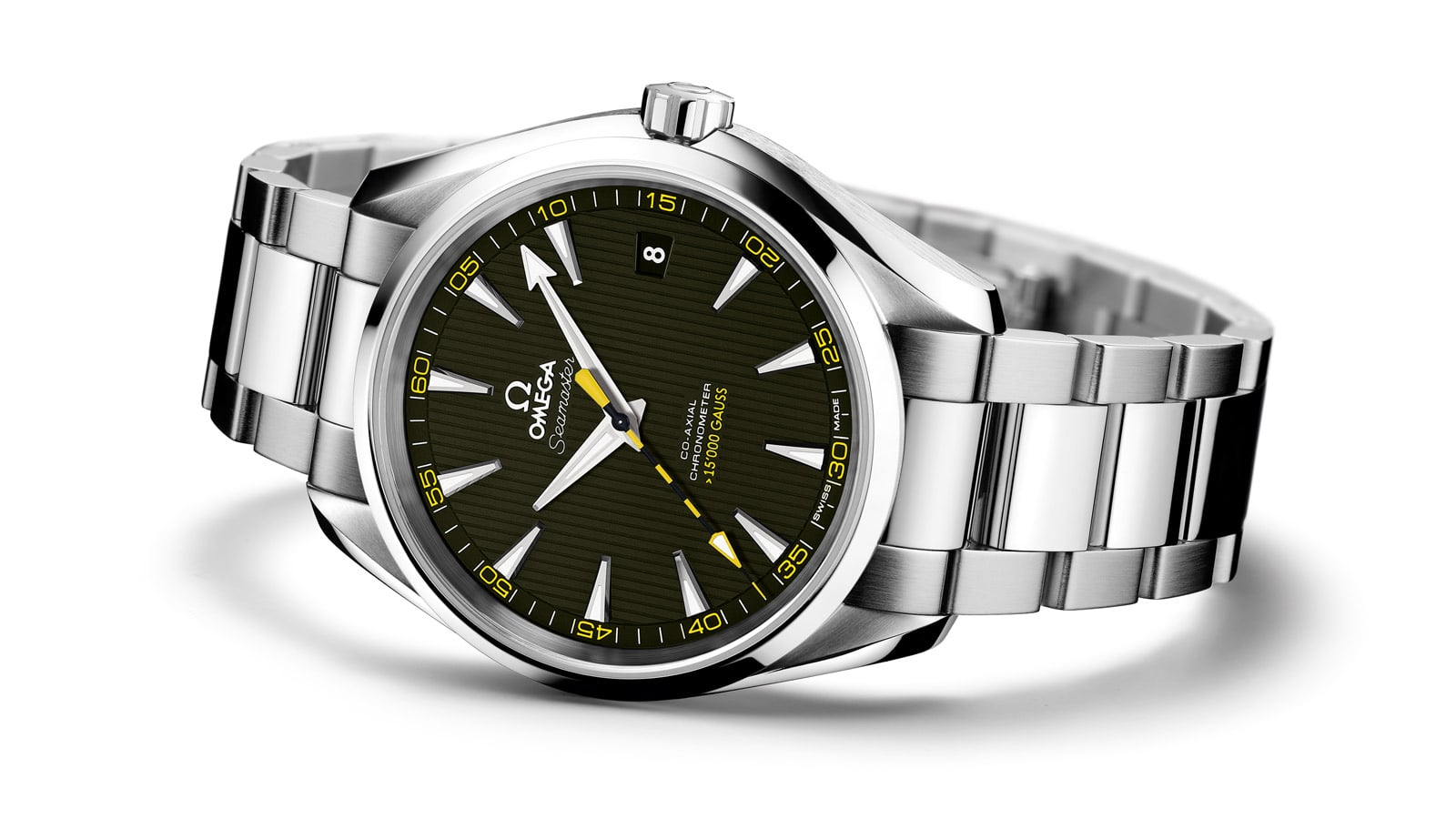 THE OMEGA SEAMASTER AQUA TERRA > 15,000 GAUSS