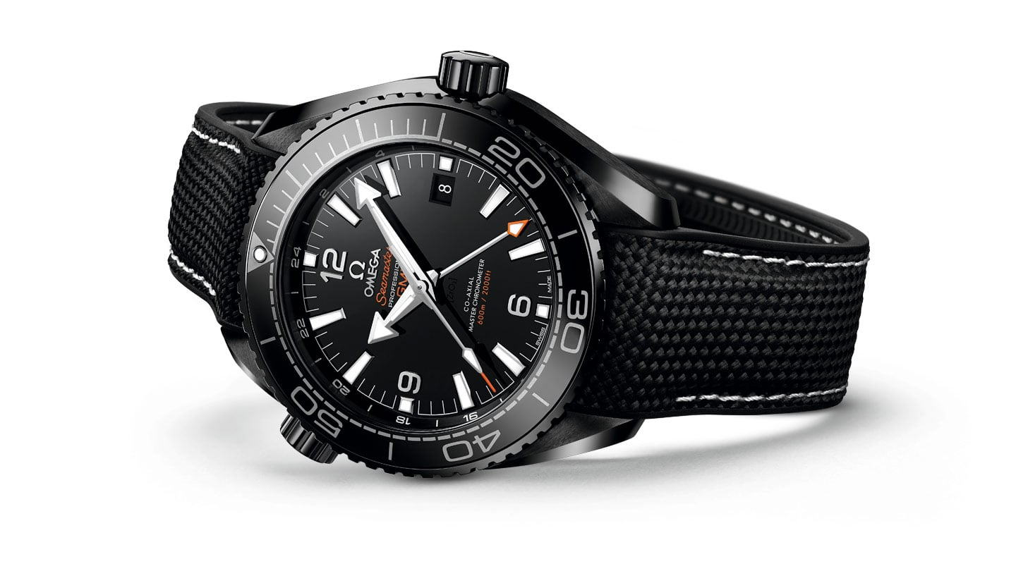"THE SEAMASTER PLANET OCEAN ""DEEP BLACK"" COLLECTION"