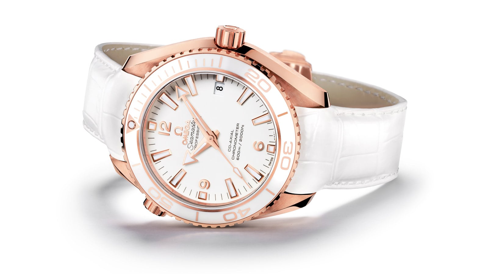 THE OMEGA SEAMASTER PLANET OCEAN CERAGOLD COLLECTION