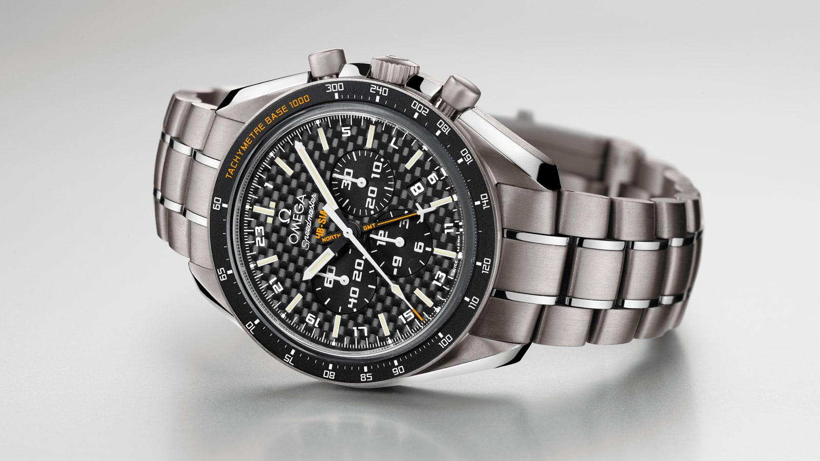 THE SPEEDMASTER HB-SIA GMT: THE SUN WILL SHOW US THE WAY!