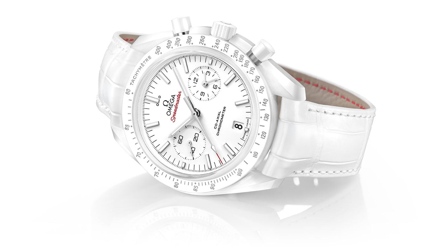 "THE SPEEDMASTER ""WHITE SIDE OF THE MOON"""