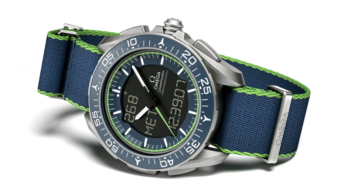 THE SPEEDMASTER SKYWALKER X-33 SOLAR IMPULSE LIMITED EDITION