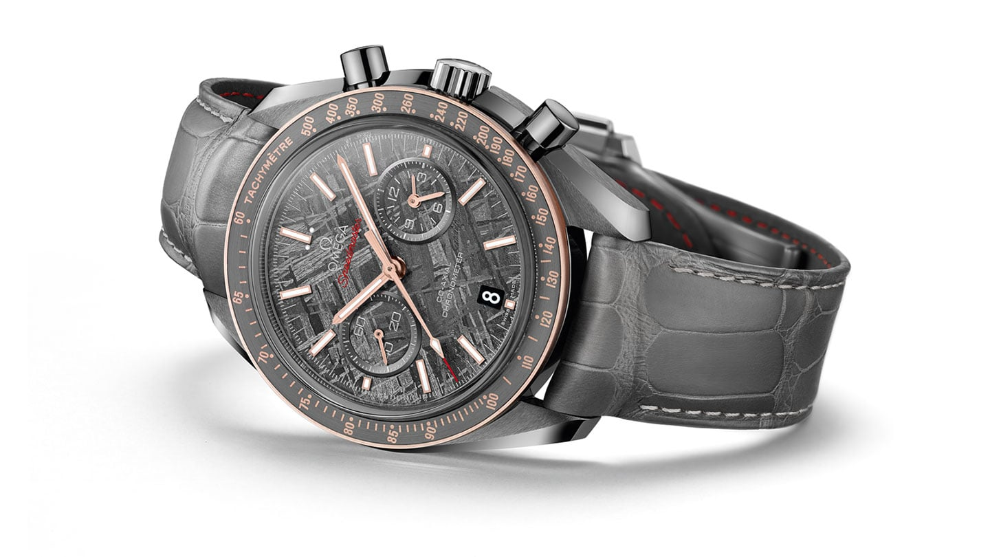 "THE SPEEDMASTER GREY SIDE OF THE MOON ""METEORITE"""